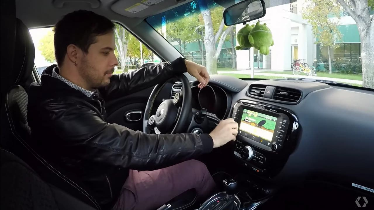 Android Auto Bedienung