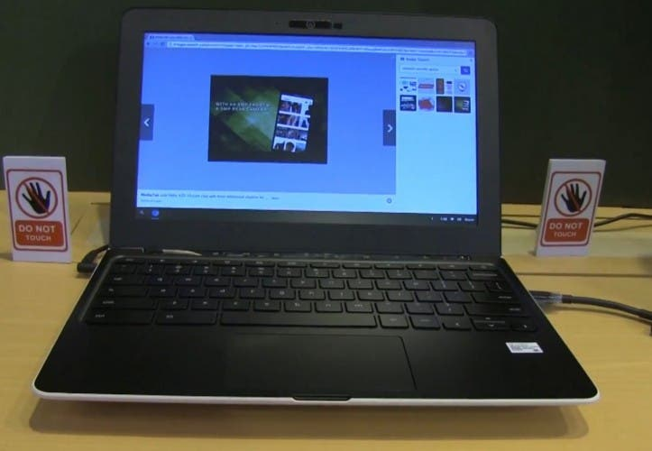 Chromebook mit Mediatek Quadcore und USB Type-C im Hands On