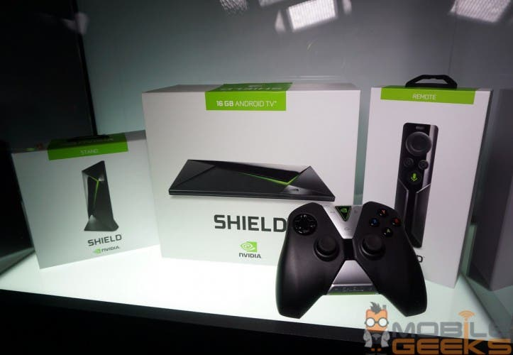 NVIDIA Shield Android TV: 4K-Set-Top-Box mit Tegra X1