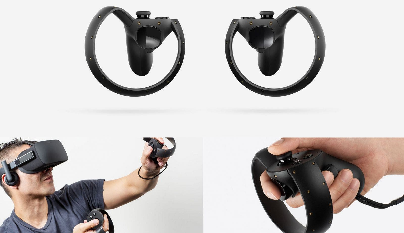 Oculus Touch Game Controller Bedienung