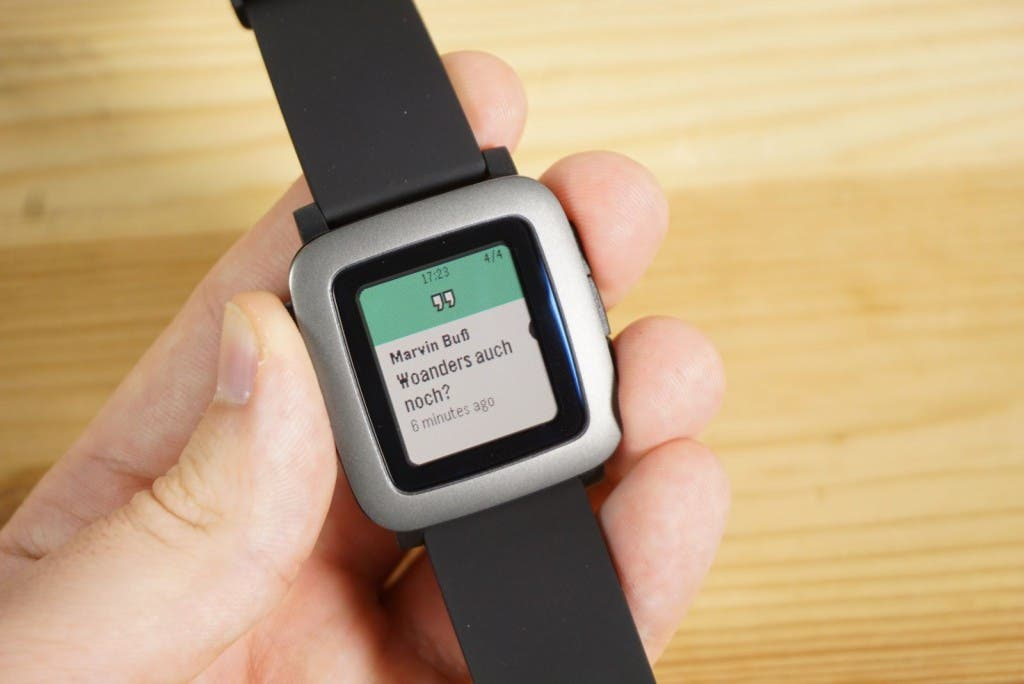 Pebble Time Hangouts