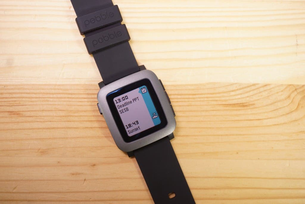 Pebble Time Kalender