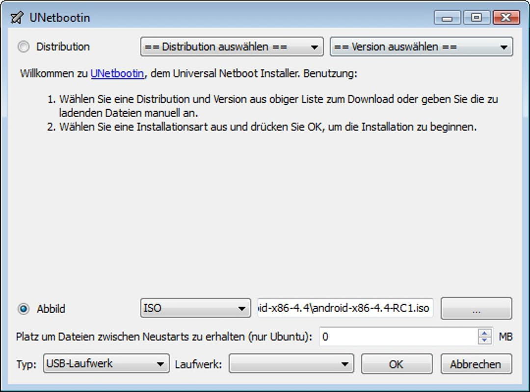 Unetbootin android anleitung