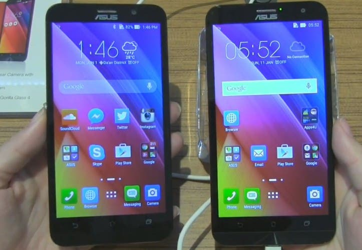 ZenFone 2 Intel vs ZenFone 2 Qualcomm