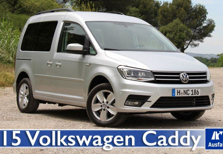 2015 VW Caddy 2.0 TDI Comfortline 150 PS – Test / Fahrbericht / Review