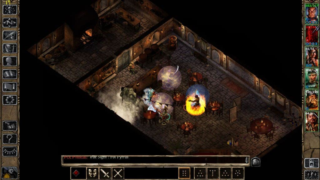 Screenshot: Baldurs Gate 2