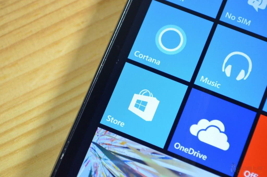 BLU Win HD LTE: Blick aufs Display mit Windows Phone 8.1