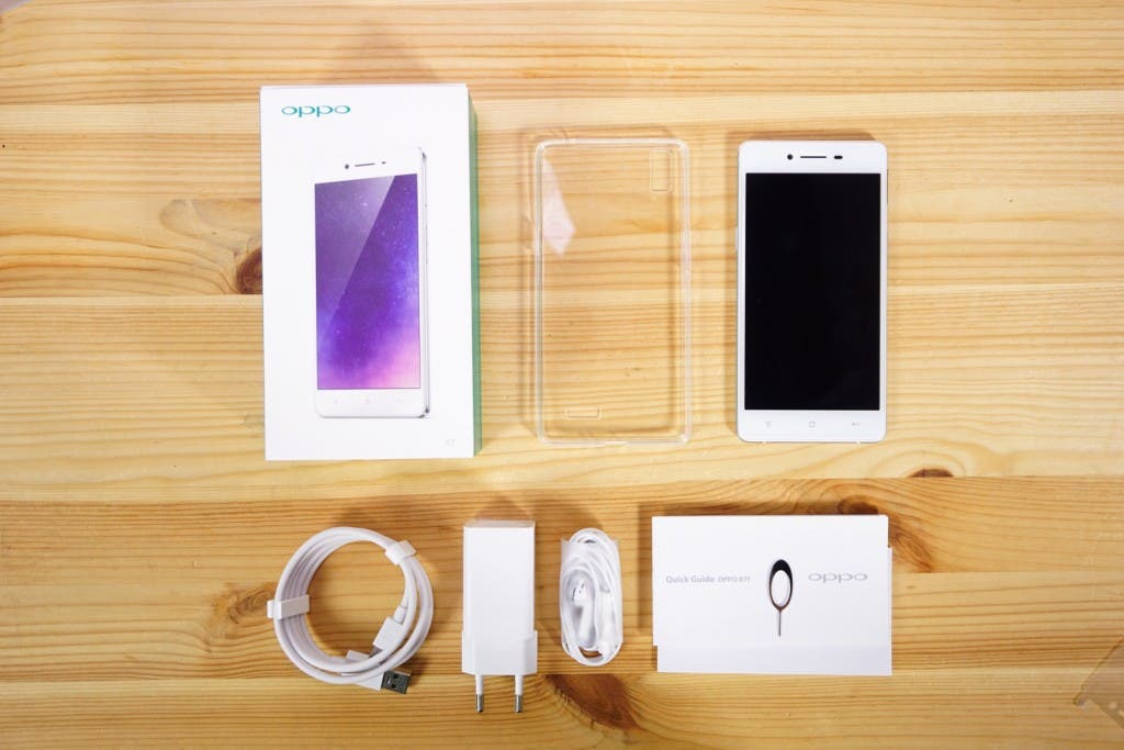 OPPO R7 Lieferumfang