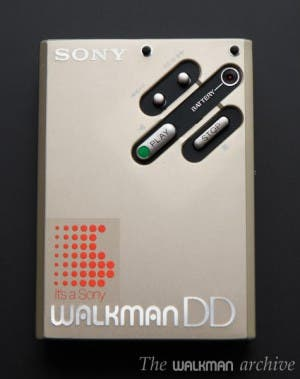 SONY Walkman WM-DD Silver 02