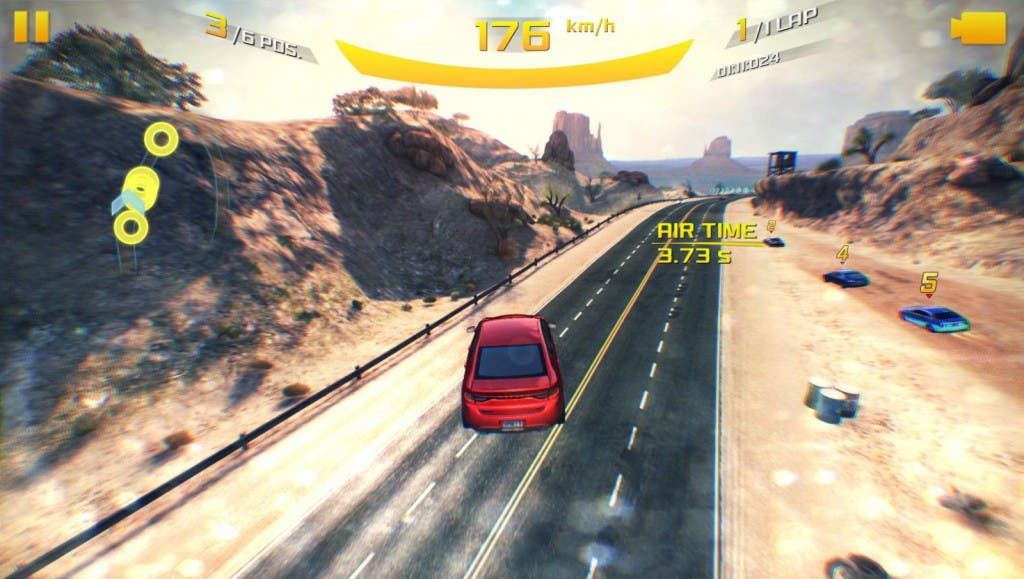 Screenshot: Asphalt 8