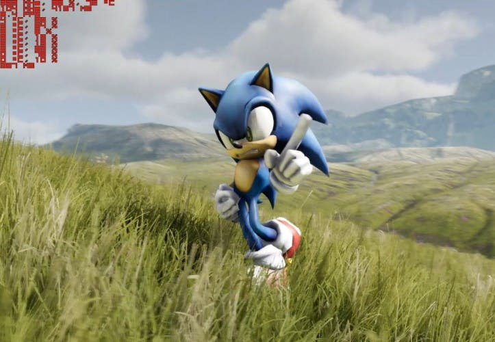 "Unreal Engine 4: Sonic sprintet durch ""Kite""-Landschaft"