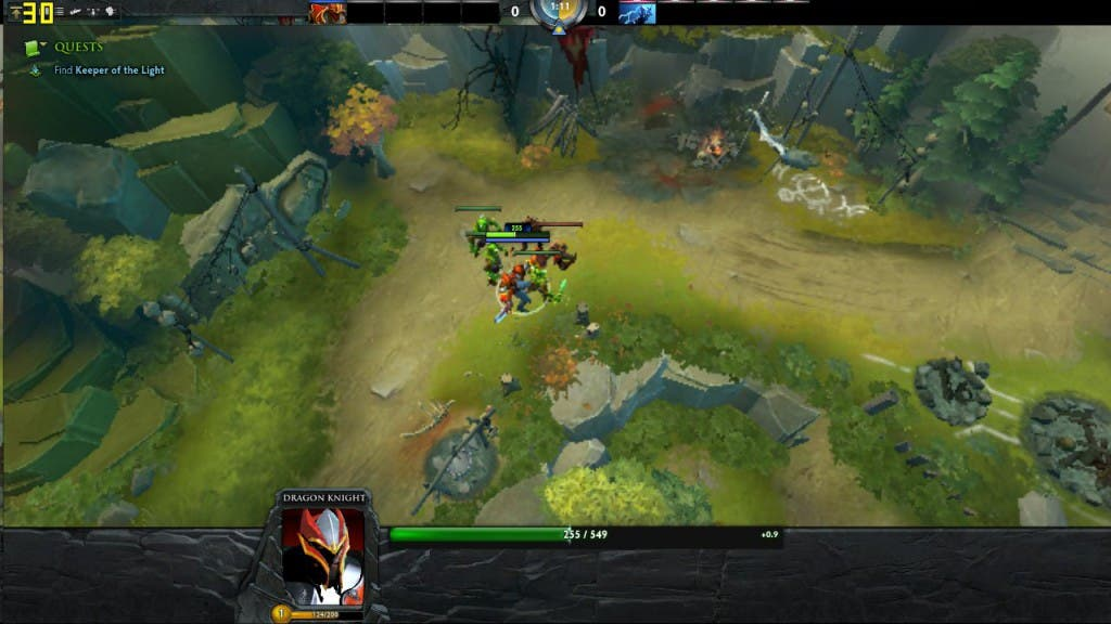 Screenshot: Dota 2