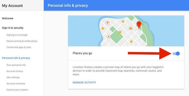 google-settings-location-history