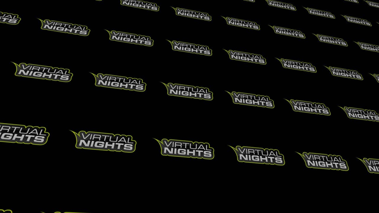 Virtual Nights - Logo Hintergrund