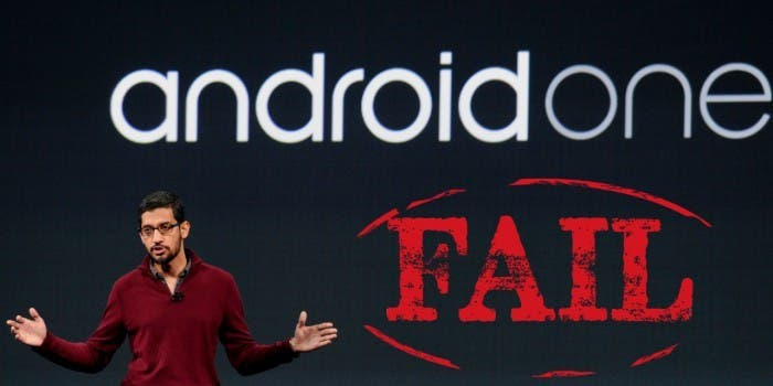 Android One Fail