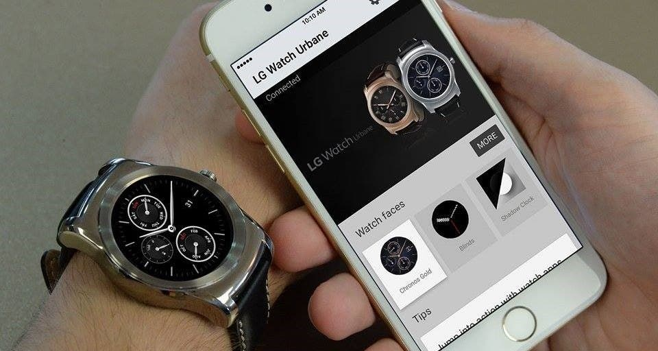 Android Wear Fuer Ios Offiziell Android Smartwatches Mit Dem Iphone