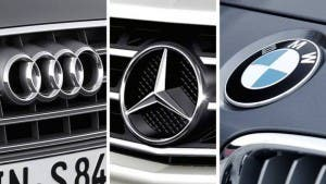 Audi, BMW, Daimler Collage