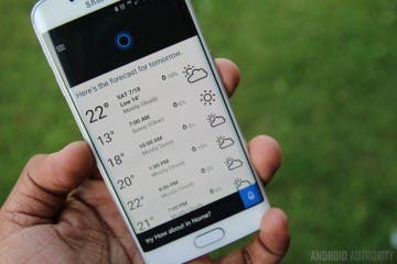 Screenshot: Cortana für Android