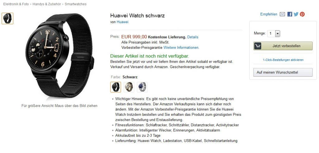 Huawei Watch Stainless Steel 11