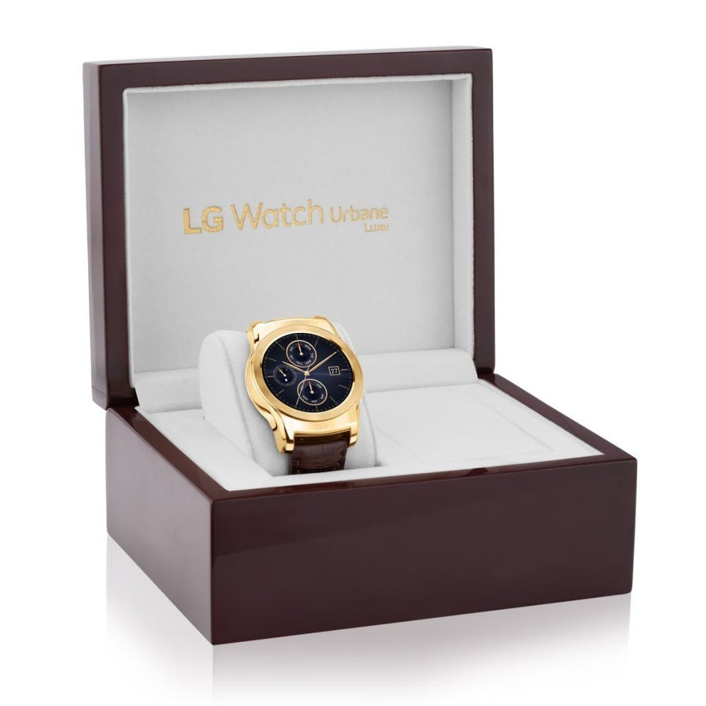 LG Watch Urbane Luxe in der Box