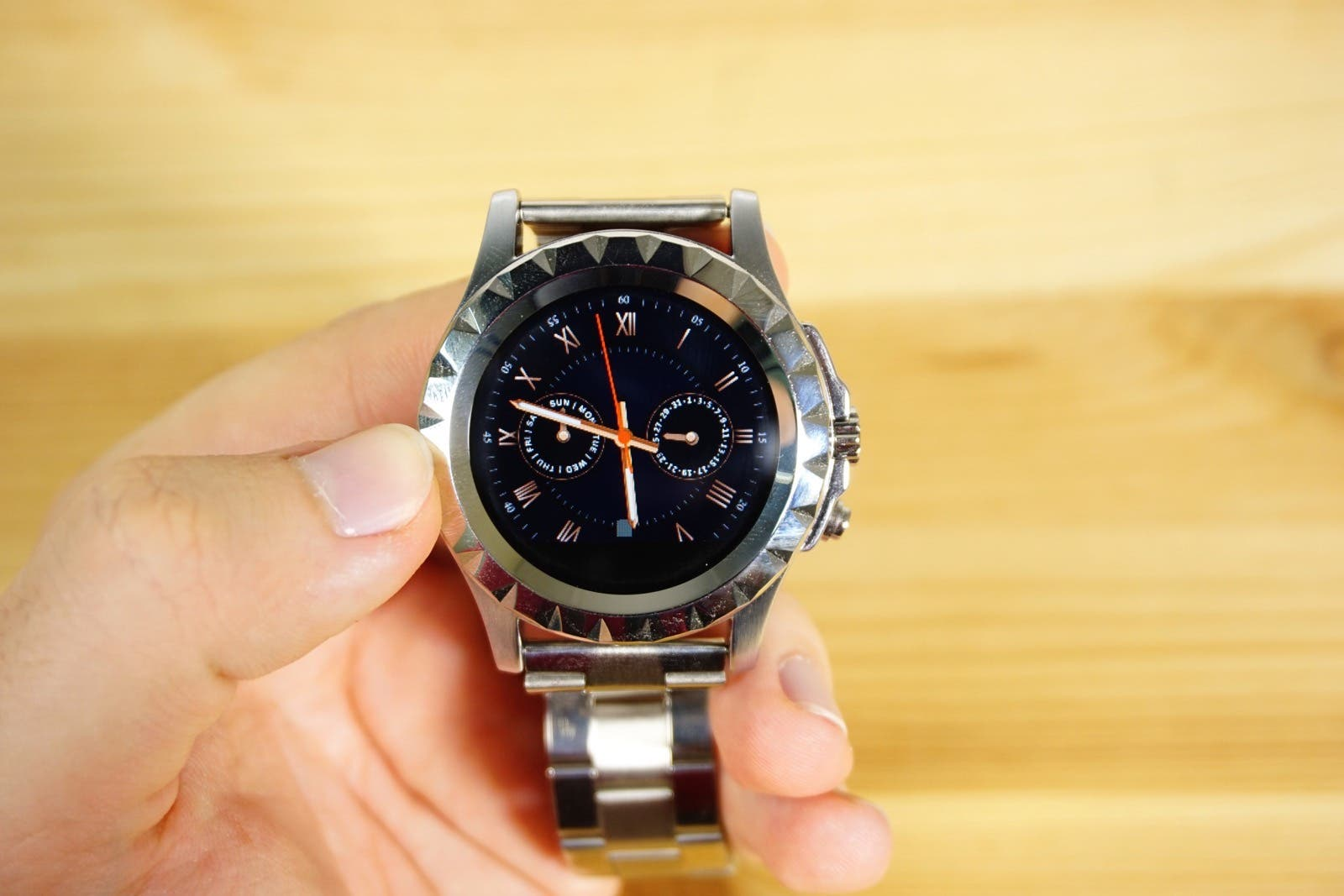 No1 S2 Smartwatch Display