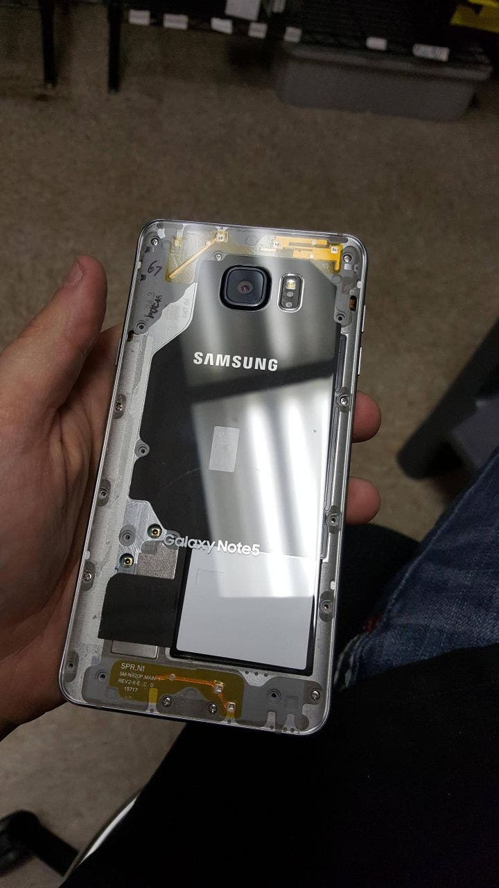 Samsung Galaxy Note 5 Transparent
