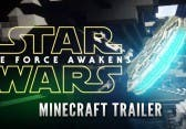 Star Wars Episode 7 Trailer – in Minecraft