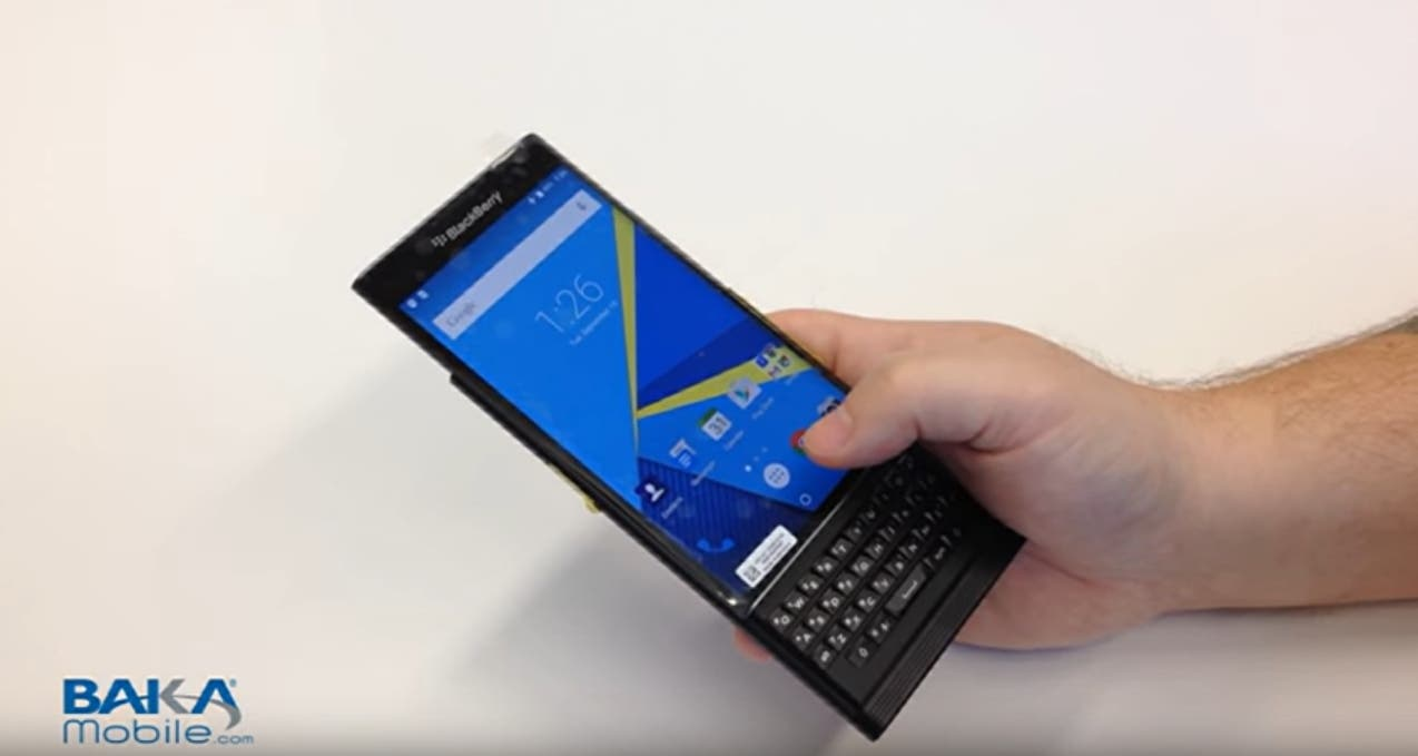 Blackberry Venice Hands-On Video