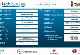 IFA 2015 Timetable - Tag 3g