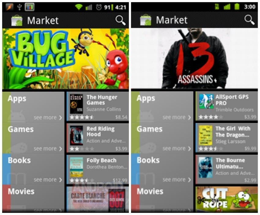 Android Market 2011