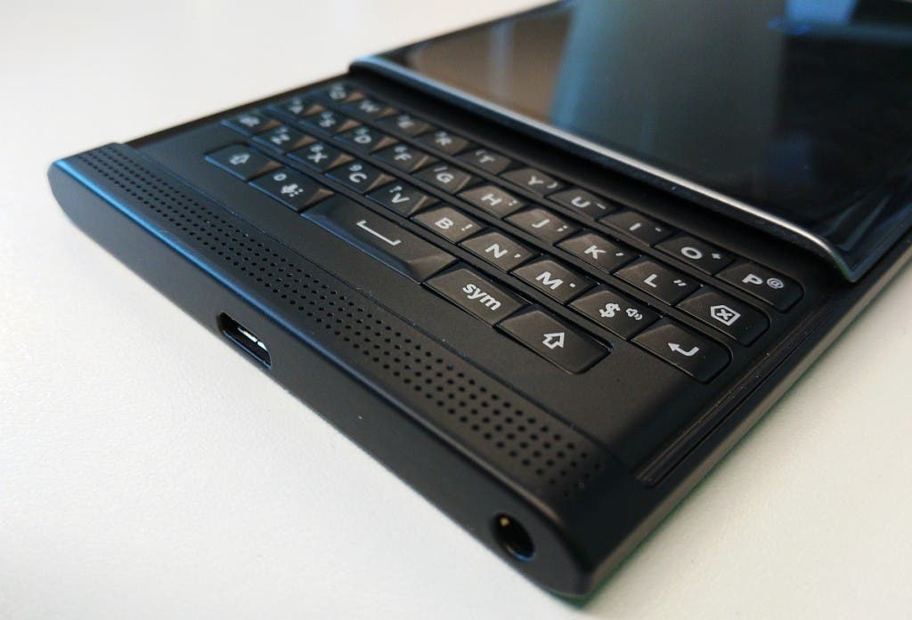 Blackberry Priv Tastatur (Georg Pichler, derstandard.at)