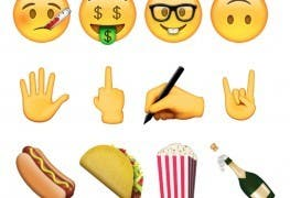 Emoji Apple iOS Android 2015