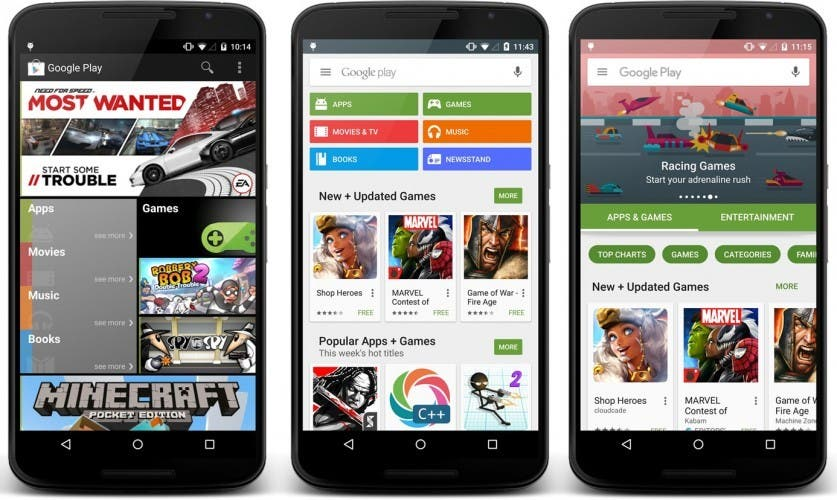 Google Play Store Evolution