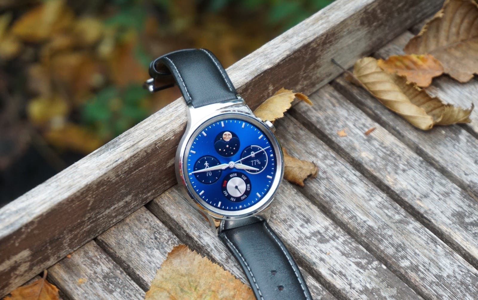 Huawei Watch Test Display