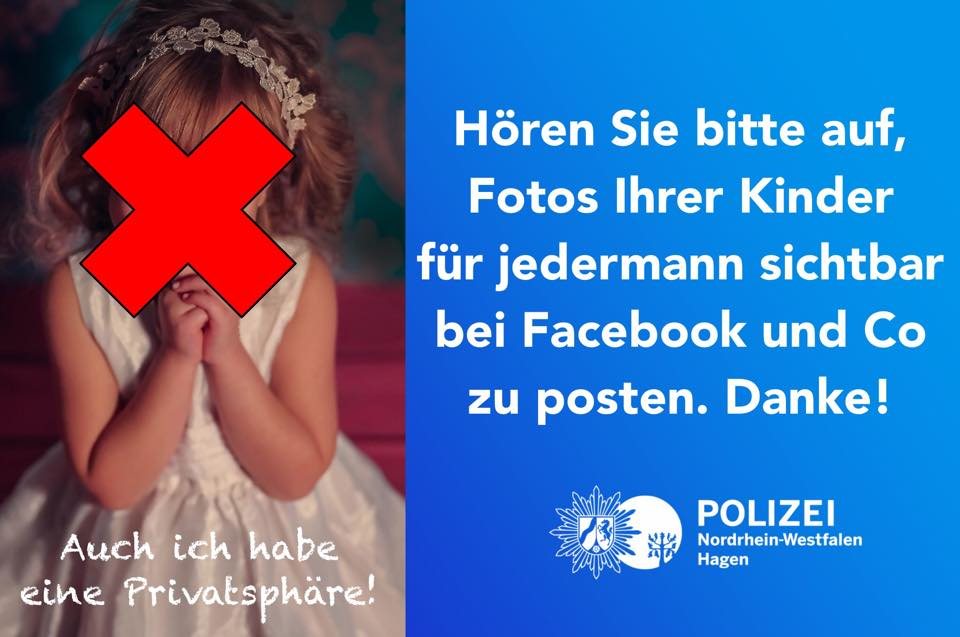 Kinderfotos auf Facebook