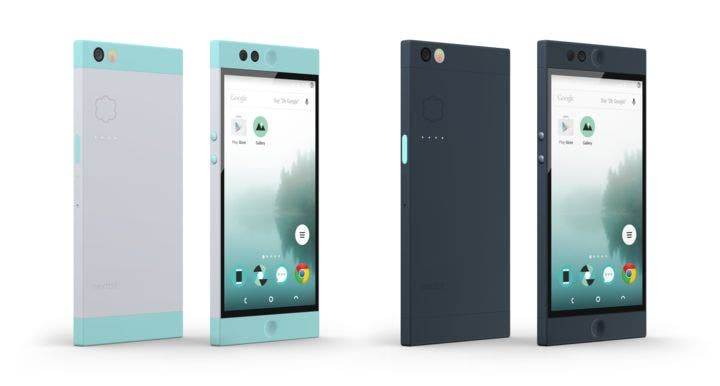 Nextbit Robin in den Farben Mint und Midnight