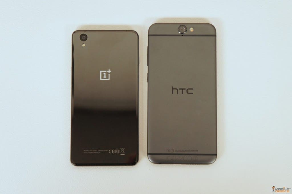 OnePlus X vs HTC One M9