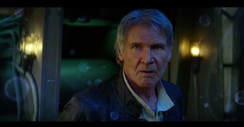 Harrison Ford als Han Solo in Star Wars 7