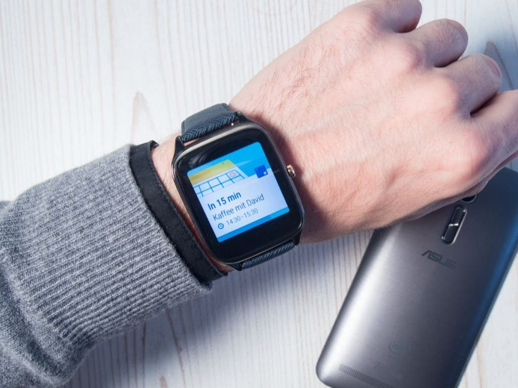 ZenWatch 2 ZenFone 2 Notification Kaffee mit David