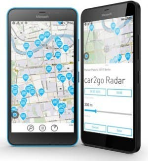 car2go app windows 10 mobile