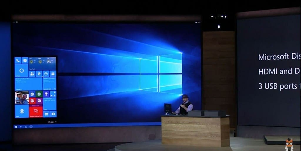 Microsoft Display Dock Präsentation Screenshot 02