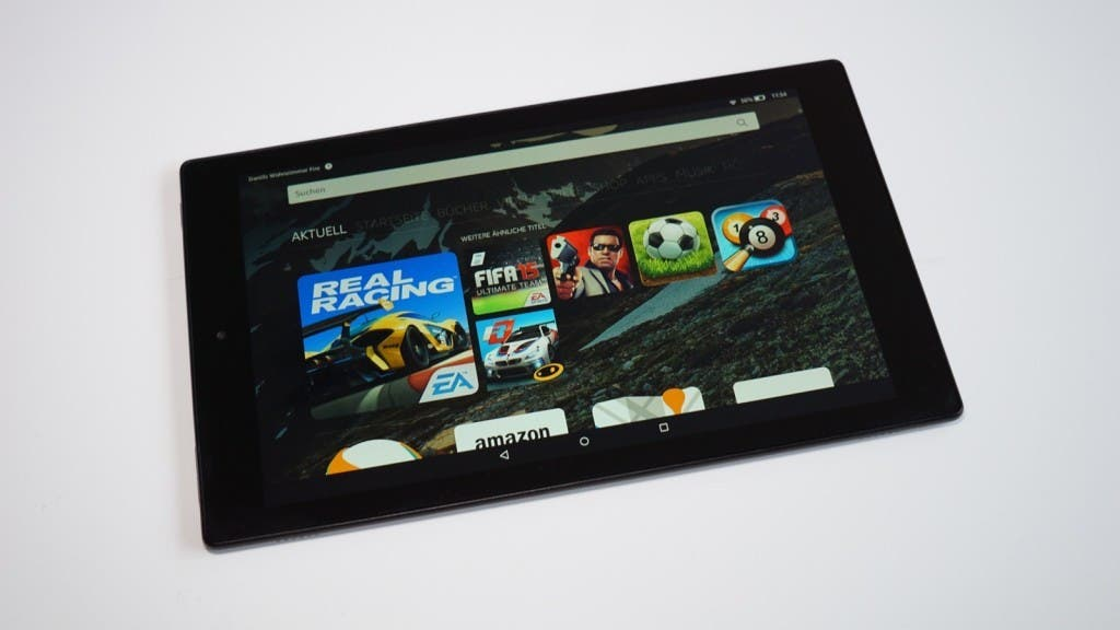 Amazon Fire HD 8 10 Test 22