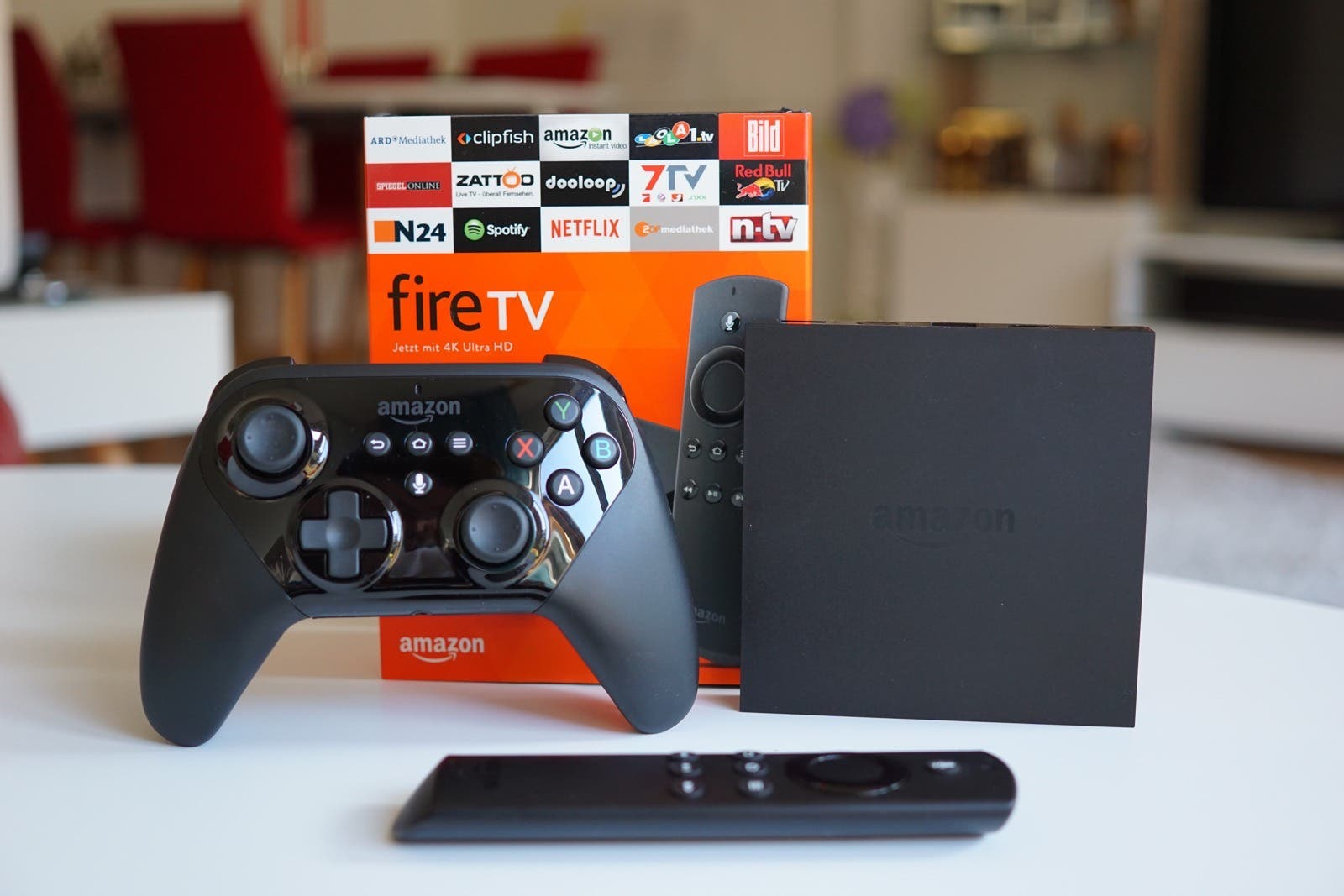 Amazon Fire TV 2015 Test