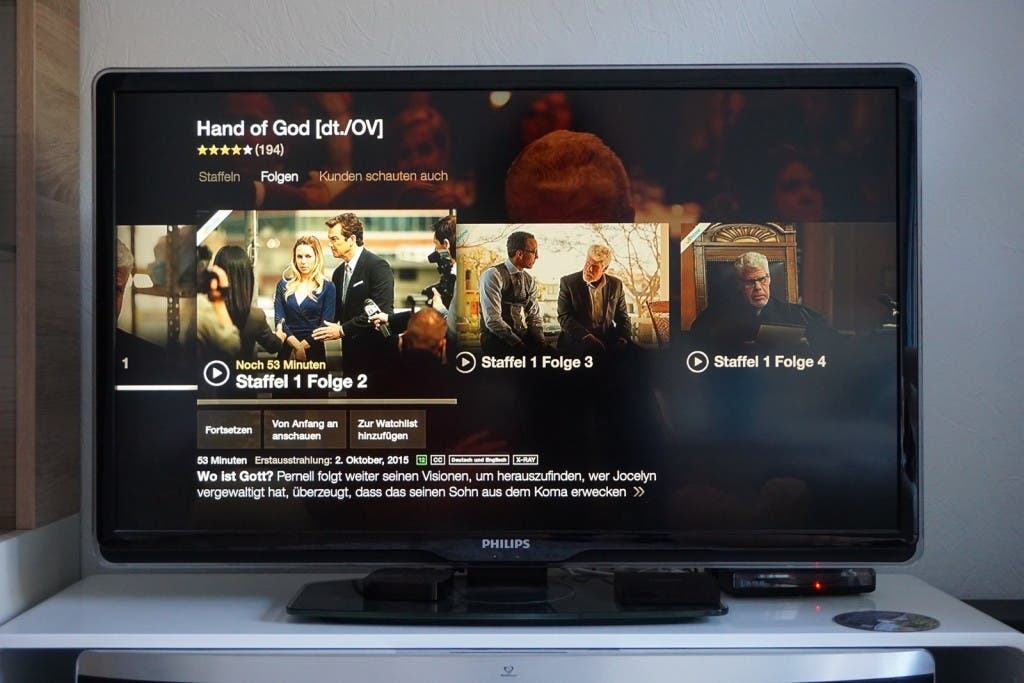 Fire TV 2015 Hand of God