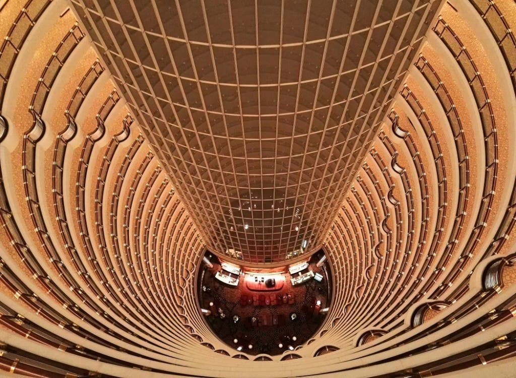 Im Grand Hyatt in Shanghai