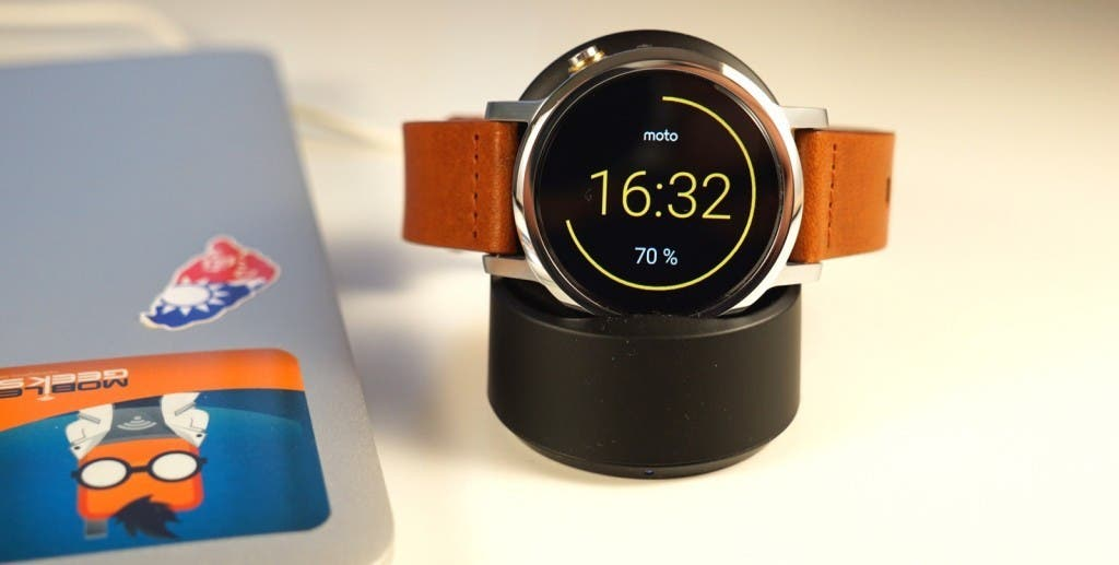 Moto 360 2 wireless charging
