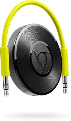 Chromecast Audio gelbes Kabel