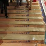 Treppe im Honor Cafe