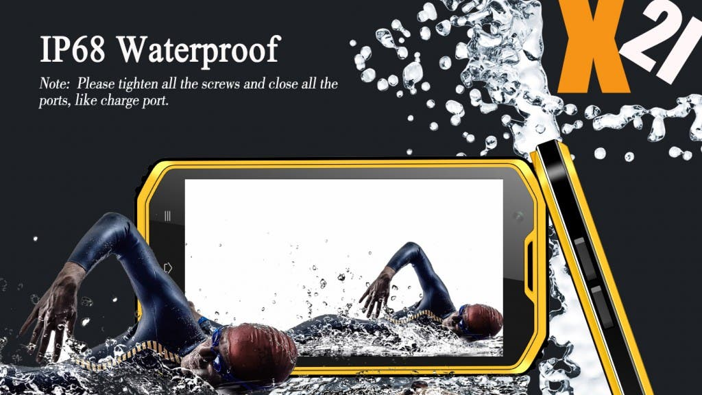 NO.1 x2i rugged Smartphone Wasserdicht