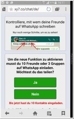 WhatsApp Hack Virus 3
